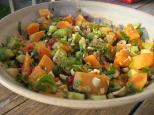 Summer Salad with Zesty Dressing